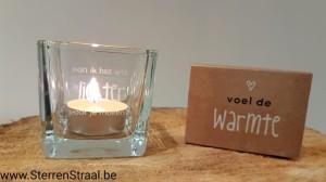 Troost-lichtje 'Kan ik het iets lichter voor je maken'